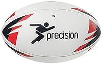 Präzision Rugby Ball Größe 34oder 5Colt Mehrfarbig Weiß/Rot/Schwarz 4