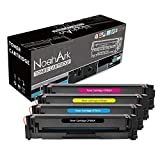 NoahArk Compatible HP 202A CF500A CF501A CF502A CF503A Toner Cartridge Work for HP Color LaserJet Pro MFP M281dw M281cdw M281fdw MFP M280 M254dw-New High Yield (B/C/Y/M)