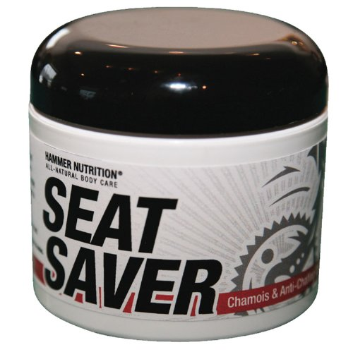 Hammer Nutrition Seat Saver Chamois And Anti, Chafing Cream 4 Oz
