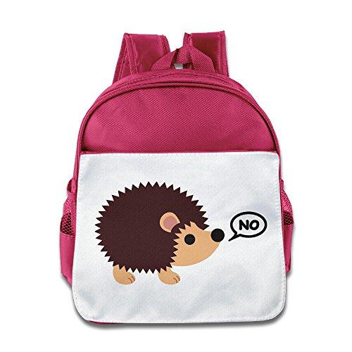 MoMo Unisex Hedgehogs Can't Share Children Backpacks Bags For Little Kids