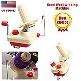 TNS STORE Hand Operated Yarn Winder Fiber Wool String Ball Thread Skein Winder Machine CW