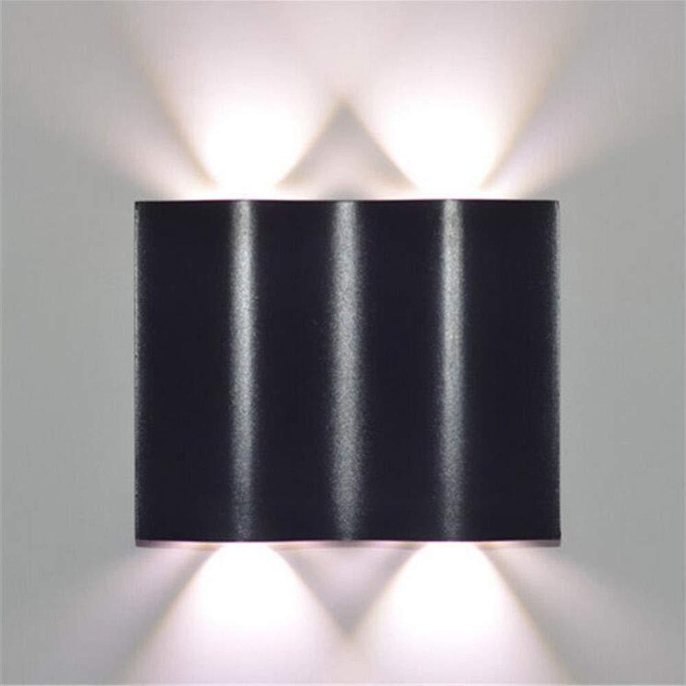 MICHEN Lampada da Comodino a Parete Laterale comodissima e Creativa Lampada da Comodino postmoderna COB,6000kbianca,4  3w