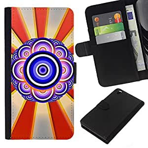 All Phone Most Case / Oferta Especial Cáscara Funda de cuero Monedero Cubierta de proteccion Caso / Wallet Case for HTC DESIRE 816 // Design Abstract Eye