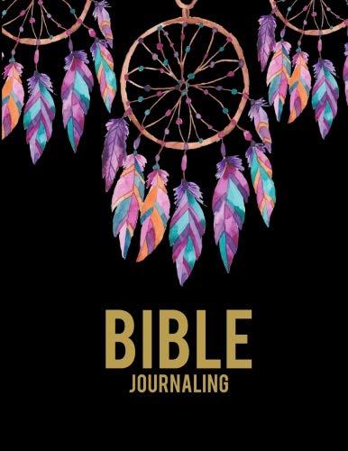 Bible Journaling: Dream Catcher Black Book, Bible Study