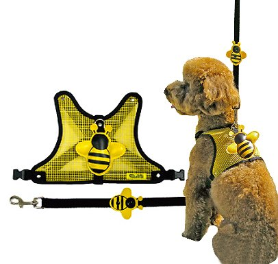 Oreo Dog - Dog Harness, Medium, Yellow