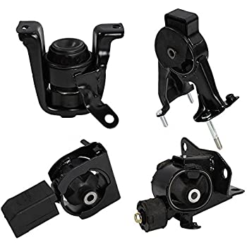 Set of 4 pcs Transmission & Motor Mount for 03-08 Toyota Corolla 1.8L Automatic