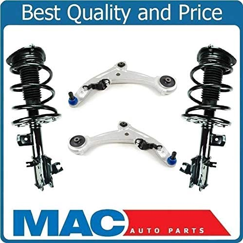 Mac Auto Parts 143434 Front Complete Struts with Lower Control Arms for Altima 3.5L SE /& SL 22