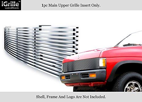 Fits 86-97 Nissan Pickup Phantom Stainless Steel Billet Grille Insert #N85230C