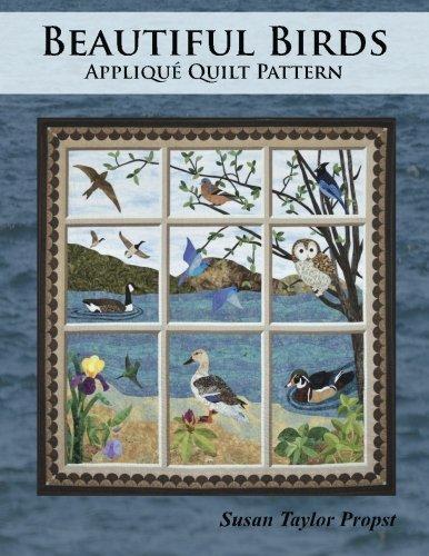 Beautiful Birds: Applique Quilt Pattern