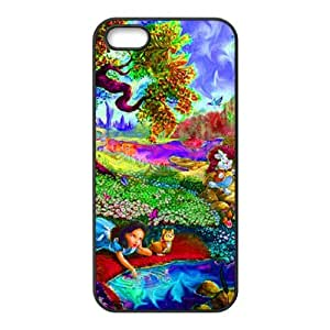 Crazy Trippy Design TPU Protective Cover For Iphone 5/5s