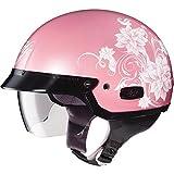 HJC Blossom IS-2 Half (1/2) Shell Motorcycle Helmet - MC-8 / Medium