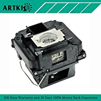 ELPLP85 / V13H010L85 Replacement Projector lamp with Housing Fit for Epson 3100 3500 3600e 3700 3900 (By Artki)