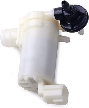 Citall 2 Pin Front Heckscheibenwaschanlage Pumpe Auto