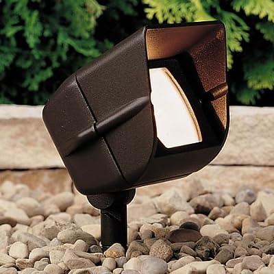 Kichler Lighting 12-Volt Low Voltage Adjustable Wide Flood Accent Light with Heat Resistant Glass