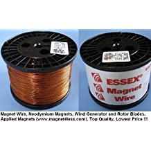 Essex Magnet Wire 18 AWG Gauge Enameled Copper Wire - 10 LBS