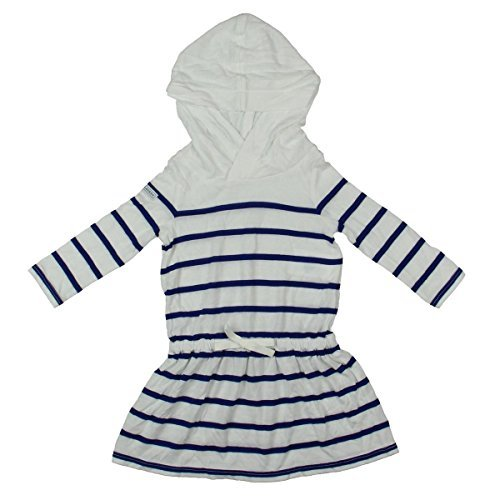 - Ralph Lauren Newborn's Hooded T-Shirt Dress Blue 6M
