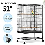 go2buy Large Play Top Bird Cage Parrot Finch Macaw Cockatoo Birdcages
