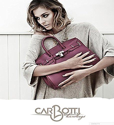 Carbotti Borsa In Stile Classico Pelle Coccodrillo xzHxFqw