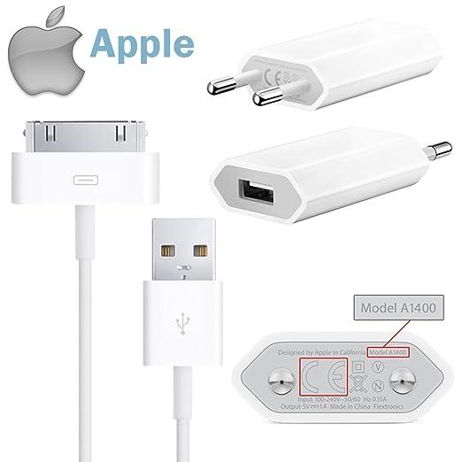 79 opinioni per Apple- Adattatore alimentatore di rete USB 5W originale Apple MD813ZM/A A1400 +