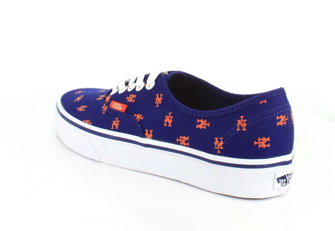Vans US Authentic B01I42UXY8 6.5 M US Vans Women / 5 M US Men|New York Mets/Blue 520904