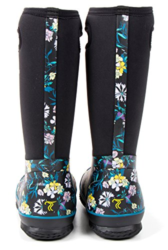 TwoTracks Neoprenstiefel Clara hoch