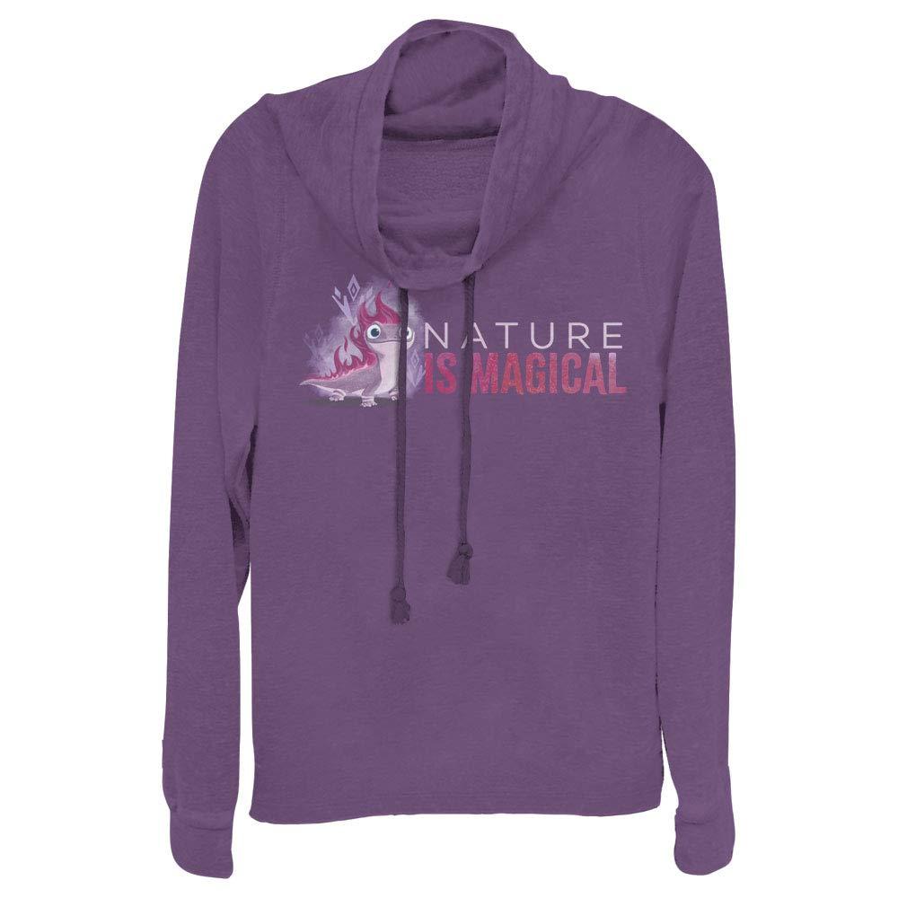 Small Purple Disney Juniors Sweater