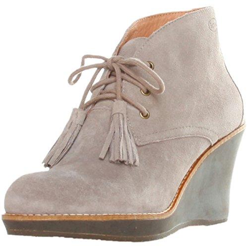 Scholl Dr enis f244131062Mujer Zapatos Botines, Botín, diseño Pumps, Wedges, EU38UK5, color marrón