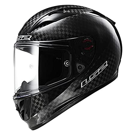 Amazon.es: LS2 FF323 Flecha C Moto Rock sólida fibra de carbono brillo Casco Integral nuevo