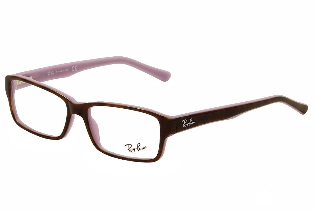 Ray-Ban Men's RX5169 Eyeglasses Top Havana On Opal Violet 54mm by Ray-Ban