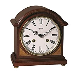 Qwirly Store: German Liberty Mechanical Barrister Mantel Clock by Hermle #22857N90130