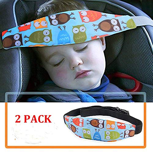 (2 Pack Baby Head Support for Car Seat-Car Seat Head Support for Toddler-Car Pillow-Child Car Seat Head Support-Safety Car Seat Neck Relief-Offers Protection and Safety for Kids-Baby Shower Gift)