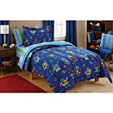 Mainstays Kids Robots Bed in a Bag Bedding - Best Reviews Guide