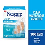 Nexcare Waterproof Bandages Family Pack, Assorted