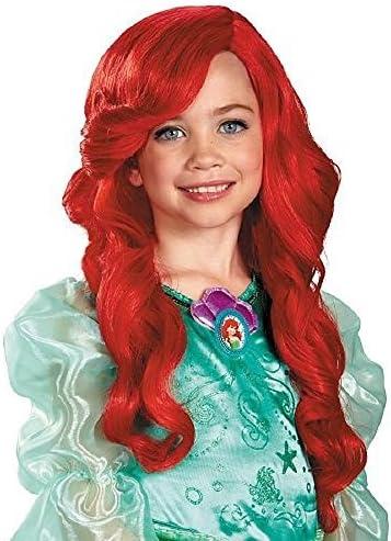 Disfraz Princesa de Disney La Sirenita Ariel peluca Niño: Amazon ...