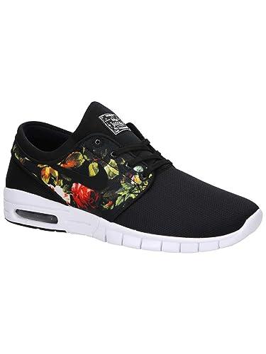 new style 63736 e8b5e Nike Stefan Janoski Max Sneakers Basses Homme, Multicolore Black Multi Color  001,