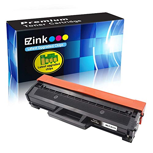(E-Z Ink (TM) Compatible Toner Cartridge Replacement for Samsung 111S 111L MLT-D111S MLT-D111L to use with Xpress SL-M2020W Xpress SL-M2070W Xpress SL-M2070FW Printer (Black, 1 Pack))