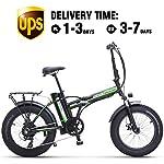 51UrBoHRc3L. SS150 Shengmilo Bicicletta Elettrica Pieghevole Bicicletta Pieghevole da 20 Pollici Bicicletta Elettrica Pieghevole Bicicletta…