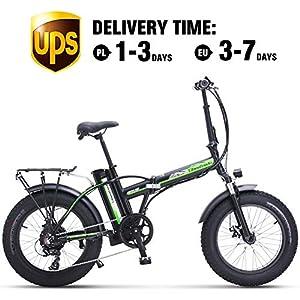 51UrBoHRc3L. SS300 Shengmilo Bicicletta Elettrica Pieghevole Bicicletta Pieghevole da 20 Pollici Bicicletta Elettrica Pieghevole Bicicletta…