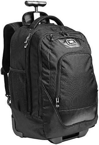 OGIO Wheelie Pack Wheeled Upright, Laptop MacBook Pro Backpack, Black