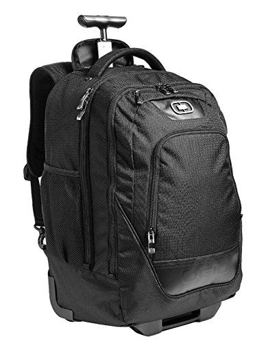 OGIO Wheelie Pack Wheeled Upright, Laptop/MacBook Pro Backpack, Black