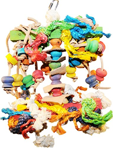 - Chew & Preen Fantasy Bird Toy - for the SERIOUS Chewers & Preeners! (Large) by Avianweb