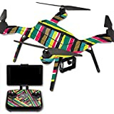 MightySkins Protective Vinyl Skin Decal for 3DR Solo Drone Quadcopter wrap cover sticker skins Split Color