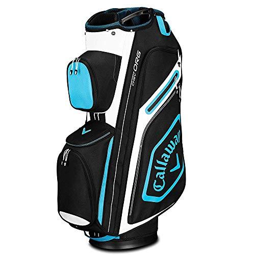 Callaway Golf 2019 Chev Org Cart Bag, Black/Blue/White