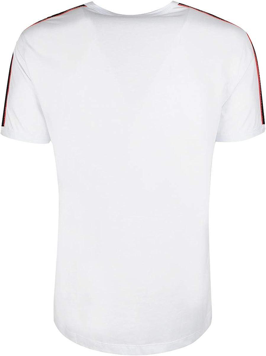 Antony Morato Camiseta Cinta Logo Blanco Hombre: Amazon.es: Ropa y ...
