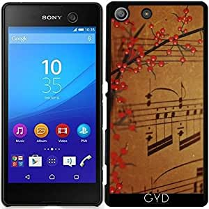 Funda para Sony Xperia M5 - Estilo De Música by WonderfulDreamPicture