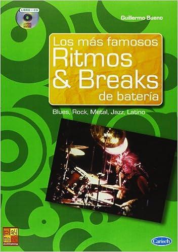 BUENO Guillermo - Los mas famosos Ritmos and Breaks de Bateria (Inc.CD): BUENO Guillermo: 9788850717002: Amazon.com: Books