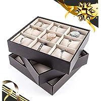 JackCubeDesign MK407-9 Bracelet Storage Tray(Set of 3)
