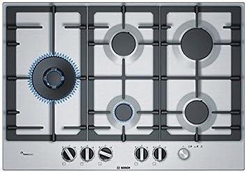 Bosch - Piano cottura a gas PCS7A5M90 Finitura acciaio inox da 75 ...