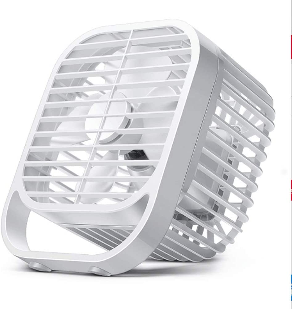 Portable Mini Fan 2 Speed Adjustable Office Outdoor Travel Thirteen USB Desktop Fan Detachable Net Cover Cleaning is More Convenient USB Power Supply Mute is Very Suitable for Home