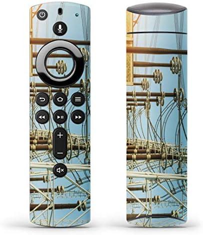 igsticker Fire TV Stick 第2世代 専用 リモコン用 全面 スキンシール フル 背面 側面 正面 ステッカー ケース 保護シール 014932 景色